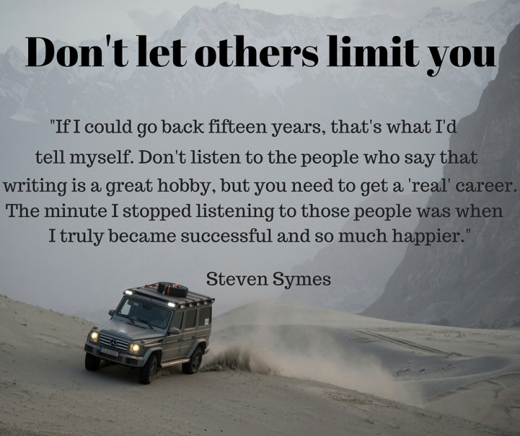 Don't let others limit you